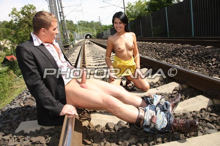 фото секса на вокзале