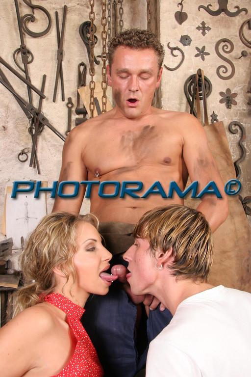 Bisexual elderly photo